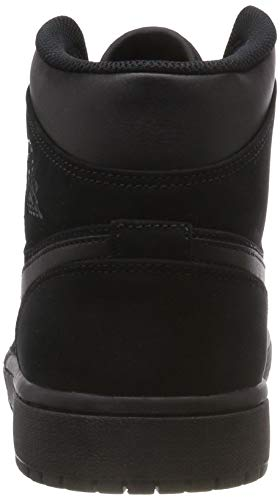 Nike Men''s Air Jordan 1 Mid Basketball Shoes, Black (Black/Dark Grey/Black 050), 10 UK 10 UK Img 1 Zoom