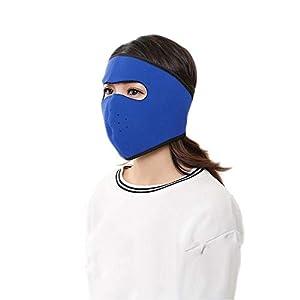 Yogadada Herbst-Winter-Winddichtes Außenreit Maske Staubdichtes Atemgesichtsmaske