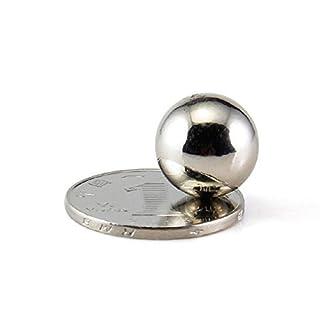 aomag® 12PCS NdFeB Magnet Kugeln 15mm Durchmesser Starke Magnete Neodym Permanent Magnete Rare Earth N42NiCuNi