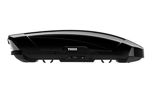 THULE 629201 Coffre de Toit Rigide Motion XT  6292B, Brillant Noir, Taille M