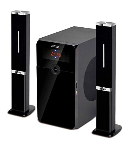 Mitashi HT 6597 BT 2.1 Channel Multimedia Bluetooth Speaker System (Black)