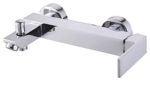 DP Grifería GBSF004 – Grifo de baño serie Fresno color plateado