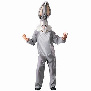 Bugs Bunny - Looney Tunes - Adult Fancy Dress Costume - Standard
