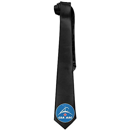 Hectwya Men's Canadian Space Agency Skinny Tie