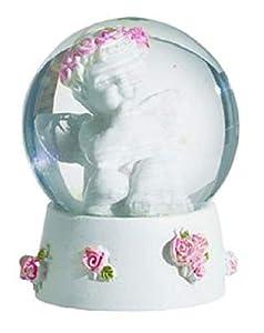 KATERINA PRESTIGE - Bola de Nieve con ángeles y Flores mm A, Modelo BROHF1606A, Multicolor