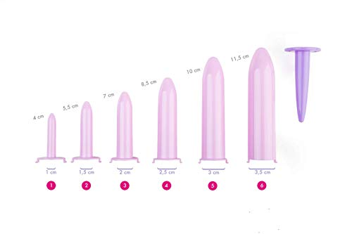 Zoom IMG-2 kit velvi 6 dilatatori vaginali