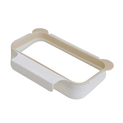 Zengbang titolare sospeso trash rack può essere appeso a uno sportello porta supporto porta-strofinacci sacco della spazzatura rack di stoccaggio (arancia, 18.5 * 12 * 3.5 cm)