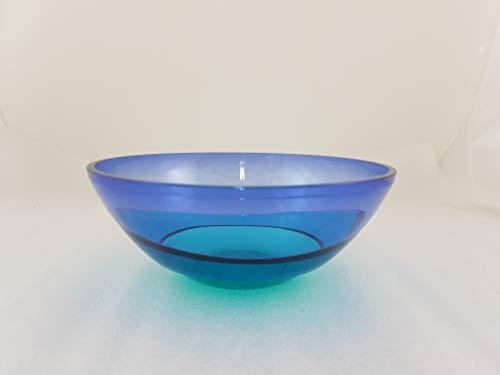 1a Tupperware - Eleganzia Schüssel - 0,6L - blau grün
