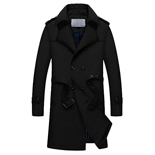 d6b7269f clearance Men Autumn Casual Daily tops mens winter trench Coat Tailcoat  Jacket Gothic Frock overCoat Uniform