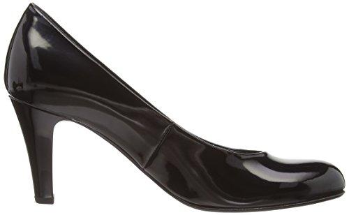 Gabor Shoes (Lavender P), Escarpins Bout Fermé Femme Noir (Black Patent)