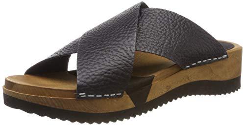 Sanita Damen Tanja Sport Flex Sandal Pantoletten, Schwarz (Black 2), 38 EU