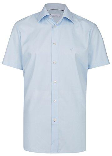 Einhorn Herren Kurzarmhemd Modern Fit Jamie hellblau 855.11305 21 Hellblau