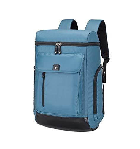 HF morning Einfarbig Groß Notebookrucksack Herren 15.6 Zoll Laptop Backpack Mode Business Rucksack Wasserdicht Arbeit Schultasche Leicht Laptoptasche