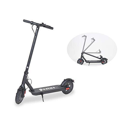 ZONSUSE Elektroroller, 250W Smart E-Scooter Höchstgeschwindigkeit 25 Km/h und 20 Km Langstreckenbatterie, Faltbarer Elektroroller für Erwachsene und Jugendliche, maximalen Last von 100 kg