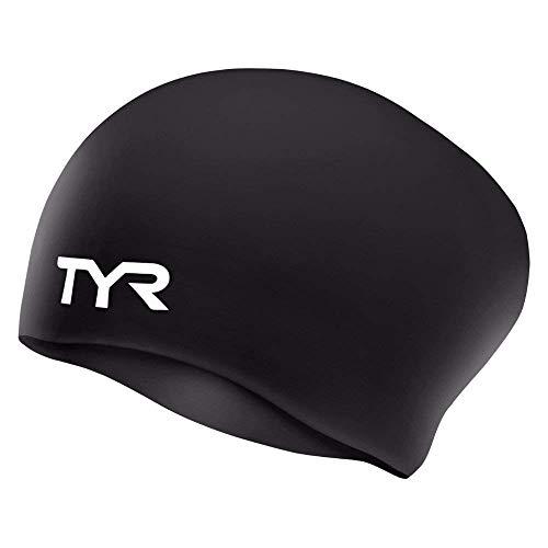Tyr lcs 001, cuffia in silicone unisex - adulto, black, m
