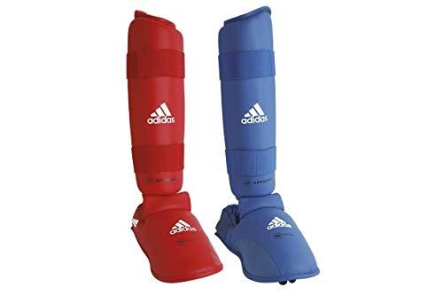adidas 661 35 Fußschutz für Kampfsport, Unisex M - blau