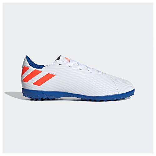 Adidas Nemeziz Messi 19.4 TF J, Botas de fútbol para Niños, Multicolor Ftwbla/Rojsol/Fooblu 000...