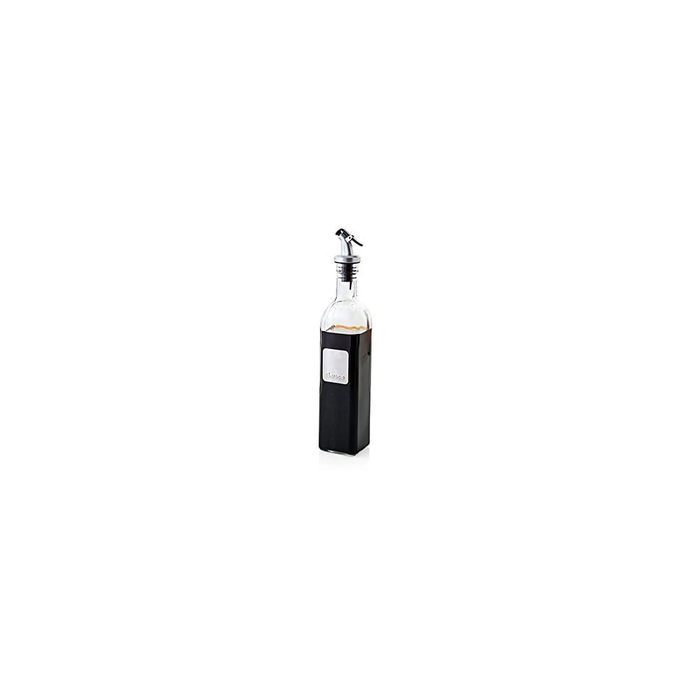 Essig L Spender Glas Flasche Fr Kochen Container Auslauf L Spender Flasche Set Fr Kche Mit Hebel Release Ausgieer Essig Soja Sauce Silber