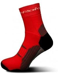 Calcetines RaidLight R Light combinadas rojo, rojo, 38-40
