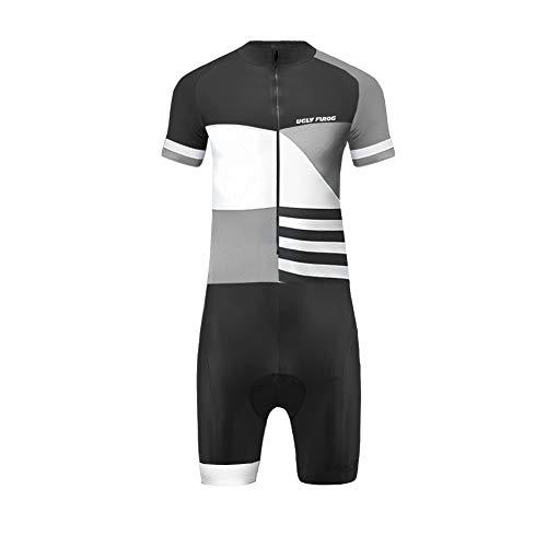 Uglyfrog 2019 Skinsuits Ciclismo Uomini A Maniche Corta Maillot Ciclismo Body All'aperto Aderente Sport Abbigliamento Triathlon Asciugatura Veloce LTFX03