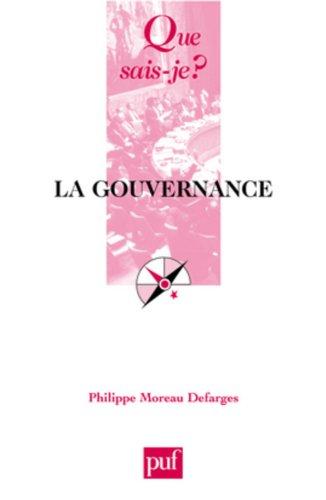 La gouvernance par Philippe Moreau Defarges