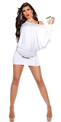 KouCla - Robe - Femme Weiß