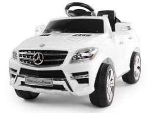 Voiture électrique pour enfant Mercedes ML 350 - Blanc