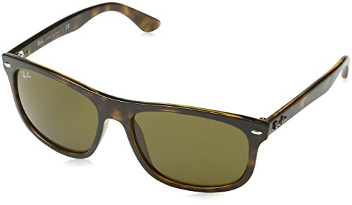 Ray Ban Herren Sonnenbrille RB4226, Braun (Shiny Havana/Dark Brown), One Size (59)