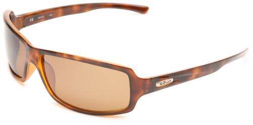 Oakley Men's Spool RE4048-01 Polarized Rectangular Sunglasses,Brown Tortoise Frame/Glass Brown Lens,one size