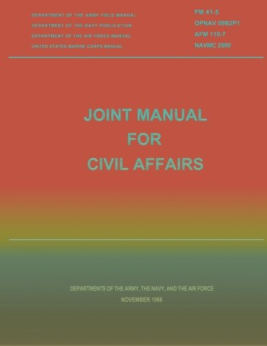 Joint Manual for Civil Affairs por Department of the Army