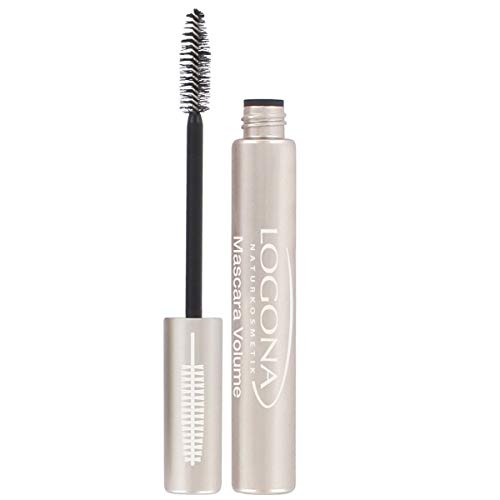 Mascara Pestañas Volumen Deep Black de Logona
