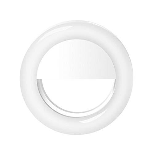 VEVICE - Anillo de luz LED para Selfie con Clip para cámara...