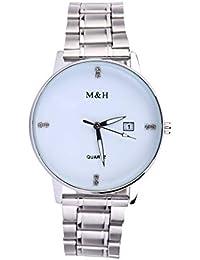POJIETT Relojes Hombre Acero Inoxidable Relojes de Marca en Oferta Reloj Pulsera de Cuarzo Analogico Hombre