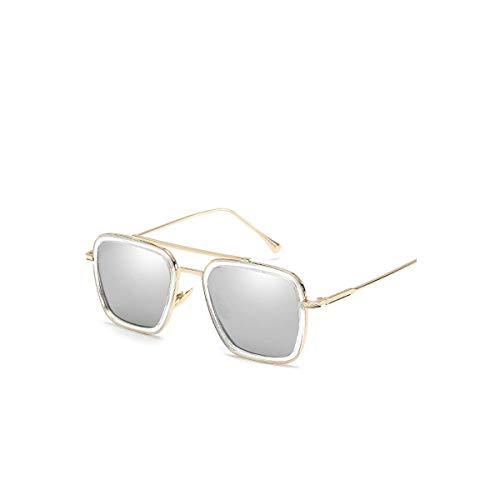 Sport-Sonnenbrillen, Vintage Sonnenbrillen, Men Tony Stark Aviation Sunglasses Fashion Glasses Robert Downey JR Eyeglasses Men's Sunglasses