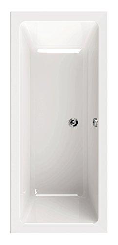 AquaSu 80168 3 Acryl oNno, 170 x 75 cm, Weiß, Wanne, Badewanne, Bad, Badezimmer
