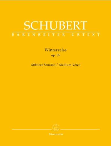 Voyage d'Hiver Opus 89 (Winterreise) --- Chant(Voix Moyenne)/Piano