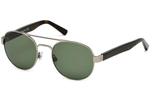 Occhiali da sole web we0157 c52 08n (shiny gumetal / green)