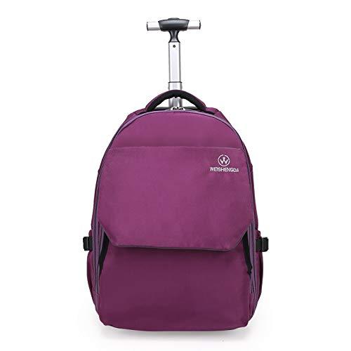 Trolley Rolling Rucksack Schultasche 19 Zoll für Kinder,Schüler und Studenten mit viel Stauraum für Reisen, Schule und Ausflüge ()