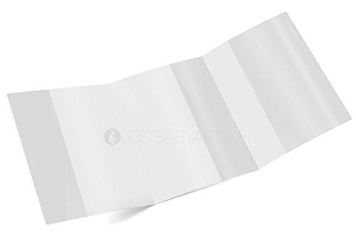 Mutterpasshülle 3-teilig transparent Mutterpass Schutzhülle Blanco (10 Stück)