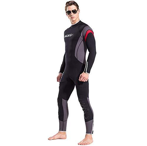 Costume da Bagno Uomo 2.5mm Neoprene Completo Muta da Sub Nuoto Surfing Sailing