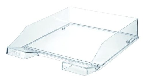 Han Standard C4 Size Stackable Letter Tray - Transparent/ Clear
