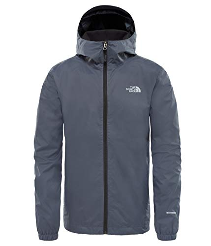 The north face, m quest jkt, giacca a vento softshell, uomo, grigio (vanadis grey black heather), m