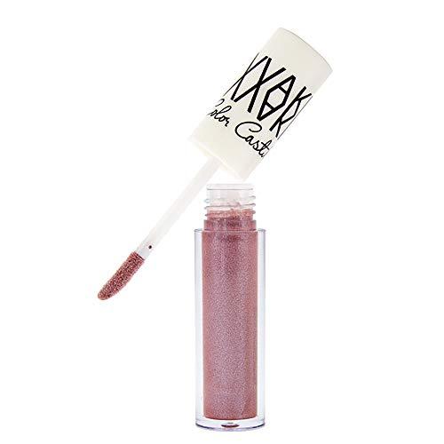Yazidan Wasserdicht Flüssigkeit Lippenstift Feuchtigkeitsspendend Lange andauernd Diamant Lipgloss Vampir Stil Lange andauernd Feuchtigkeitsspendend Feuchtigkeitscreme Mode Glanz Kosmetik(#2) (Männer Vampir Make-up)
