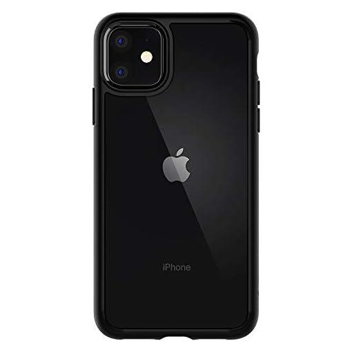 Spigen Cover iPhone 11 Ultra Hybrid Progettato per iPhone 11 Cover Custodia – Nero