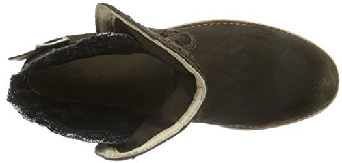 Stockerpoint Damen Schuh 7011 Schlupfstiefel Braun (moor gespeckt)