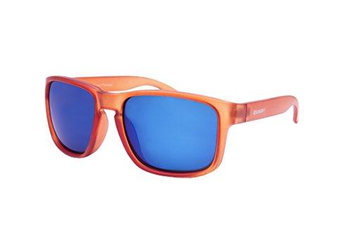 Sunglasses Moon De Bleu19202 Revo Soleil MontureOrange 47 Verres Ocean Blue Lunettes Glacé IDH9YeWE2