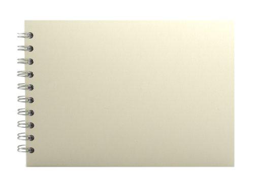 Pink Pig A5Skizzenheft, Querformat | weißes Zeichenpapier, 35Blätter | elfenbeinfarben -