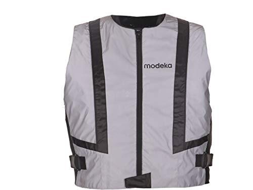 Modeka DOC SILVER Motorrad Warnweste - silber