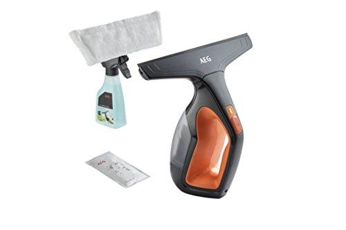 *AEG Fenstersauger / Flächenreiniger WX7-60CE1 (60 Min. Laufzeit, Lithium-Power-Akku, nur 60dB(A), inkl. 1 Aufsatz und Zubehör, Abziehlippen aus Naturkautschuk) Fensterreiniger in Orange*