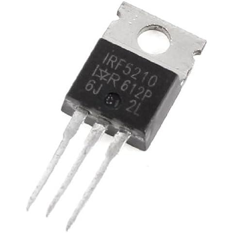 Sourcingmap - Irf5210 Transistor Mosfet Di Alimentazione Canale A P 100V 40A 60M Ohm